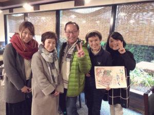 坂本さんと集合写真
